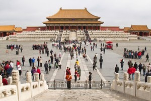 The main courtyard at Beijing's Forbidden City. Photo / Thinkstock