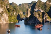 Vietnam's Halong Bay - named fourth on the provisional list of the 'Seven New Wonders of Nature'. Photo / Thinkstock
