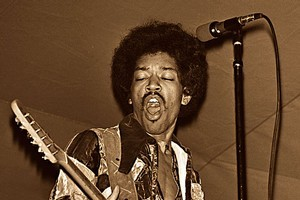 Jimi Hendrix has been named the greatest ever guitar player by Rolling Stone magazine. Photo / Supplied