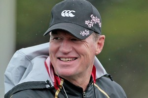 John Kirwan coached Japan at the Rugby World Cup. Photo /	Richard Robinson