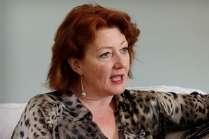 Maggie Barry was spat at in Devonport and told she was not welcome at a Belmont cafe. Photo / Greg Bowker
