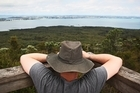 The panoramic view from the top makes the climb worthwhile. Photo / The Aucklander