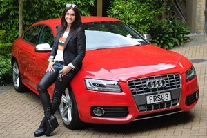 Model agency owner Sara Tetro has bought a variety of Audis over the past 16 years. Photo / Jason Dorday