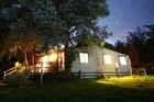 Without the interference of city lights the stars over Centre Hill Cottage put on a show. Photo / Supplied
