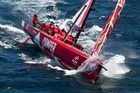 After 22 days at sea CAMPER with Emirates Team New Zealand has finished the second in leg one of the Volvo Ocean Race.