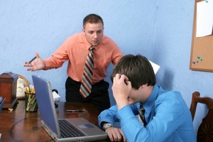 Stress caused by an abusive manager has a major impact on an employee's partner, a study has found. Photo / ThinkStock
