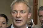 Phil Goff confirms he is stepping down as the Labour Party leader. Photo / Mark Mitchell