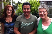 New Zealanders living with HIV. (l-r) Jewel Grimshaw, Daniel Nehemia and Jane Bruning. Photo / Herald Online