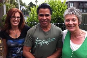 New Zealanders living with HIV. (l-r) Jewel Grimshaw, Daniel Nehemia and Jane Bruning. Photo / Herald Online