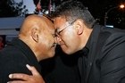 Hone Harawira (right) says free market policies will bring more poverty. Photo / Getty Images