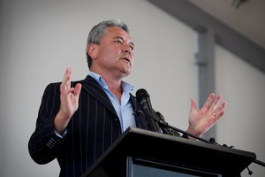 John Tamihere criticised schools principals at the Families Commission workshop. Photo / Natalie Slade