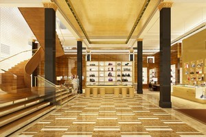 The new Louis Vuitton maison in George St, Sydney. Photo / Supplied