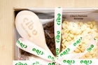 Cibo's make your own brownie kit comes complete with a wooden spoon. Photo / Babiche Martens