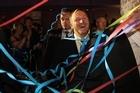 Prime Minister John Key on Election Night.  Photo / Greg Bowker