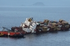 National and the Greens supported an inquiry into the response to the Rena disaster. Photo/ MaritimeNZ