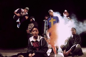 Hip-hop crew Odd Future. Photo / Supplied