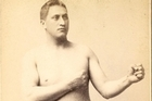Herbert Slade was promoted in the US as the 'South Seas Savage' for his fight against John L. Sullivan.  Photo / File