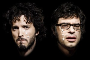 Bret McKenzie and Jemaine Clement of Flight of the Conchords. Photo / Supplied