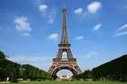 The Eiffel Tower could be transformed into the world's largest tree if a project to cover the iconic structure's 327-metre height with plants comes to fruition. File photo