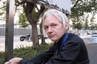 Julian Assange. Photo / APN