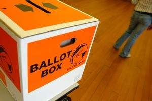 The ripples from the Christchurch earthquake are still being felt - in the ballot box. Photo / Richard Robinson