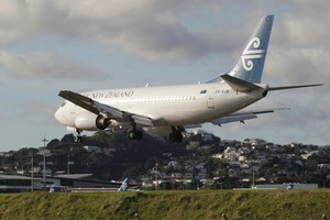 Air New Zealand. Photo / Mark Mitchell