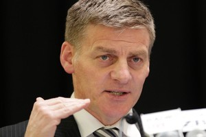 Finance Minister Bill English says New Zealand is better placed now than in 2008 to deal with global market turmoil. Photo / Mark Mitchell