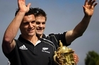 Don't be surprised if Dan Carter and Richie McCaw are called on to front the asset sale programme. Photo / Sarah Ivey