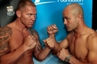 If Shane Cameron (left) knocks out Monty Betham, he earns a $20,000 bonus on top of his fee. Photo / Brett Phibbs