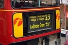 Tait Radio's technology will be used to help keep London buses on the right path. Photo / Ross Setford