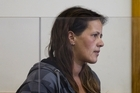 Mellissa Anderson in the dock during her appearance at the Waitakere District Court. Photo / Brett Phibbs 