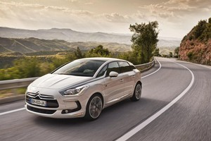 Citroen says the diesel-electric DS5 marks the start of a new era in car design and technology. Photo / Supplied