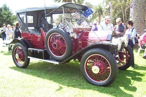 The 1912 Lanchester limousine. Photo / Supplied