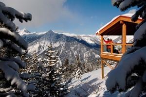 The Elkhorn Cabin at Panorama. Photo / David Gluns