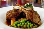 The lamb rack at Da Vinci's Restaurant, Albert St. Photo / Dean Purcell