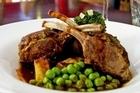 The lamb rack at Da Vinci's Restaurant, Albert St. Photo / Dean Purcell