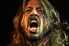 Dave Grohl and the Foo Fighters are due in Auckland in under two weeks for their biggest ever show here. Photo / Wayne Drought