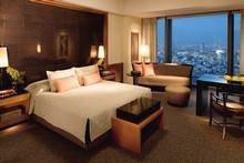 A Deluxe Room at the Mandarin Oriental Tokyo. Photo / Supplied