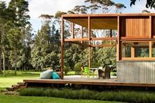 A Crosson Clarke Carnachan Architects house on Great Barrier Island. Photo / Simon Devitt