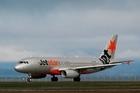 Jetstar has put iPads on board some flights leaving Auckland. Photo / Greg Bowker