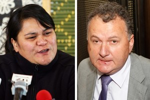 Shane Jones (right) and Nanaia Mahuta are looking for Labour leadership roles. Photos / File