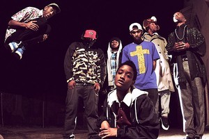 Rap collective Odd Future might still be coming to New Zealand despite being banned from the Big Day Out. Photo / Supplied
