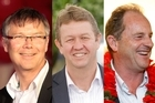 David Parker, David Cunliffe or David Shearer, who will it be? Photos / APN