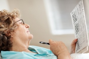 Keeping the brain active with a daily crossword puzzle is an effective way to help ward off dementia a study has revealed. Photo / Thinkstock