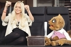 Rico hangs out with Lindsay Lohan in one of his viral videos for Air New Zealand. Photo / YouTube