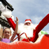 It's the big man himself, at the Farmers Santa Parade. Photo / Natalie Slade
