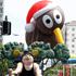 Kiwis fly at the Farmers Santa Parade. Photo / Natalie Slade