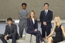 Cast members of new show Covert Affairs, screening its first episode on Four, February 9th at 9:30pm. Photo / Supplied