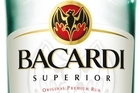 Bacardi Superior rum. Photo / Supplied