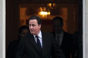 David Cameron was educated at Oxford. Photo / AP